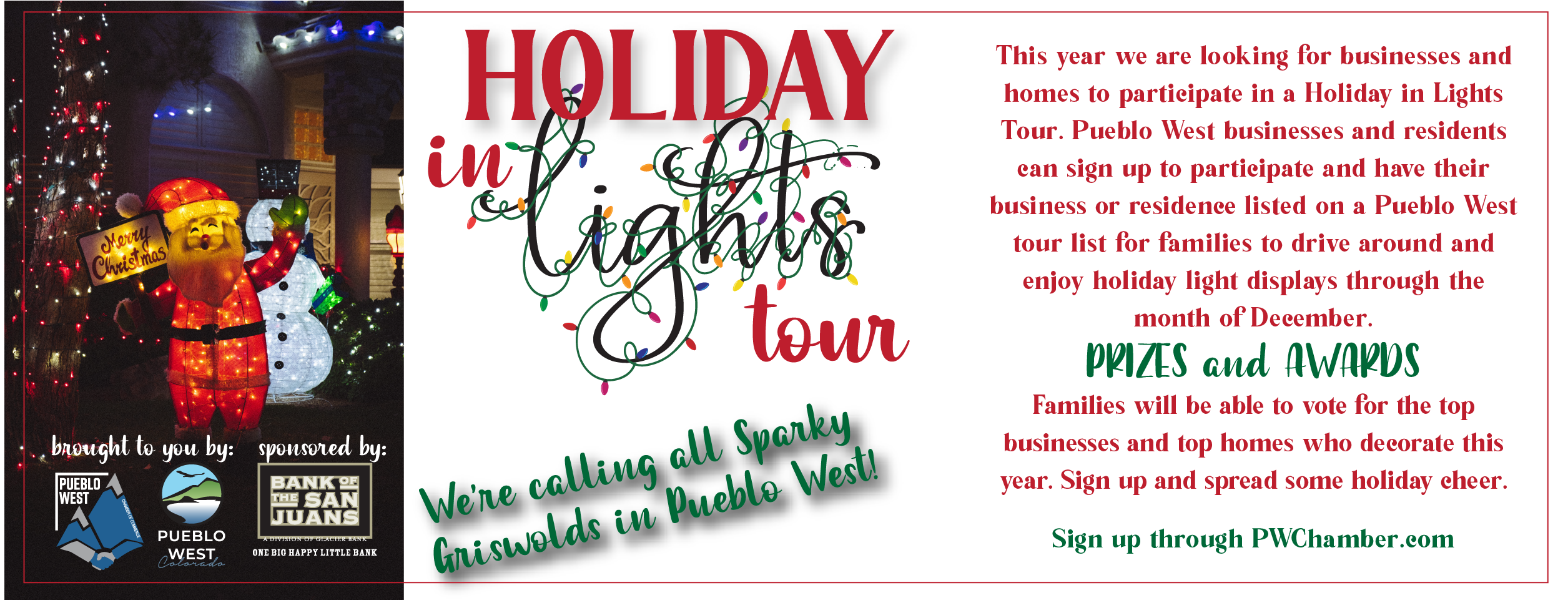 Holiday Tour Registration 2020